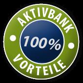AKTIVBANK 100% Vorteile